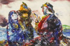 Jack Butler Yeats auction results at Whyte's Art Auctions Jack B, Global Art, Art Auction, Art Market, Butler, Oil On Canvas, Modern Art, Old Things, Artist