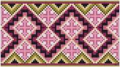 These Hmong Bags are made for everyday fashion. Weaving Patterns, Lace Patterns, Embroidery Patterns, Crochet Patterns, Cross Stitch Designs, Cross Stitch Patterns, Cross Stitch Embroidery, Cross Stitching, Crotchet Bags