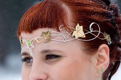 From Medieval Inspirations - some stunning metalwork jewellery and headpieces.