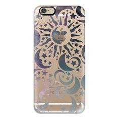 iPhone 6 Plus/6/5/5s/5c Case - Galaxy Stars Sun Moon Black Pattern... ($40) ❤ liked on Polyvore featuring accessories, tech accessories, phone case, phones, iphone case, tech, print iphone case, apple iphone cases, iphone cover case and slim iphone case