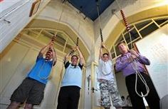 THE tuneful chime of church bells has returned to Hartshorne after more than a decade of silence, as a new group has been set up in the village.