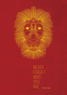 The Lion King - Poster by Andi Berisha, via Behance