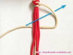タッチング結びの編み方手順11