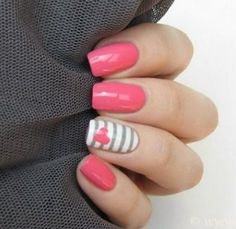 nails nail art ideas. . .how to get the lines so straightt!?