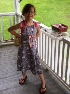 My first dress sewing project :)