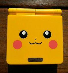 pokemon Nintendo Game Boy Advance SP Pikachu Jaune ags_001 Neodido refurbished