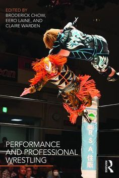 Performance and Professional Wrestling (Paperback) book cover