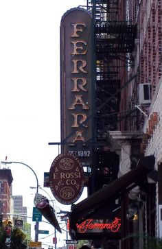 Ferrara Bakery - Little Italy NYC