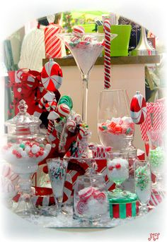 Candy Shoppe Christmas Window  - Lititz, PA