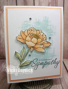 Hello Peeps! Today I sharing a card I made using the challenge this week atStamp Ink Paper.  This was a fun challenge, a One element Wonder. I pulled out my neglected You've Got this Stamp set from S