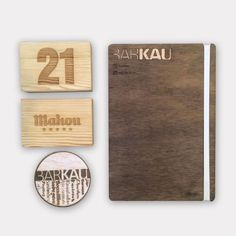 Trabajo de corte y grabado láser para Bar Kau - ezko