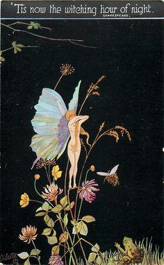 Alice Marshall ~ vintage Oilette postcard