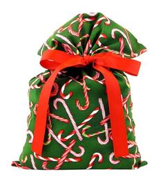 Candy Canes gift bags