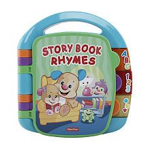 FisherPrice Laugh  Learn Storybook Rhymes Book
