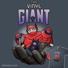 The Vinyl Giant t-shirt