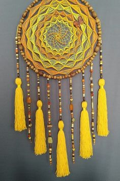 Suncatchers, Macrame, Witch, Projects To Try, Feather, Felt, Wall Decor, Dream Catchers, Creative