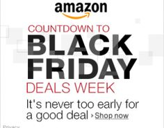Black Friday Deals from Amazon.com: Shop TODAY!