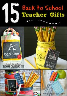 I Dig Pinterest: 15 Back to School Teacher Gift Ideas