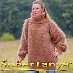 Made to order hand knitted thick and fuzzy warm by supertanya