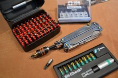 Peter Chapman uploaded this image to 'Leatherman Charge Damascus Mod'.  See the album on Photobucket.