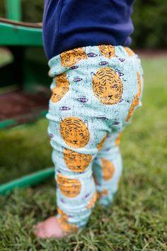 Jersey Leggings in Eye Of The Tiger