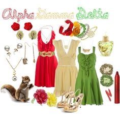 look at that. outfits all picked out for next rose week ;)