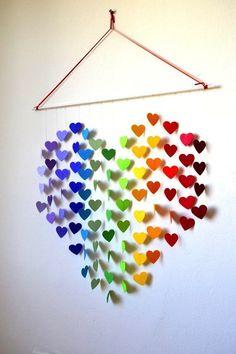 De 15 leukste zelfmaakideetjes voor muurdecoraties met Valentijn!