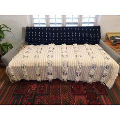 Image of Vintage Moroccan Wedding Blanket