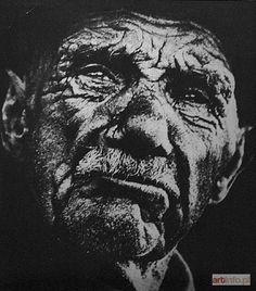 BEKSIŃSKI Zdzisław | Portret dziadka artysty, ok. 1955