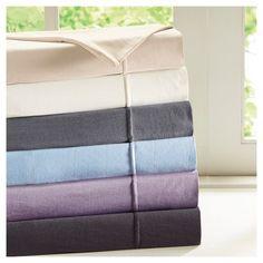 Pillow Cases Graphite (Grey) Non-woven Fabric Standard