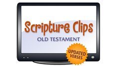 Old Testament Scripture Clips DVD