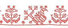 Karelian embroidery, kukkilintu