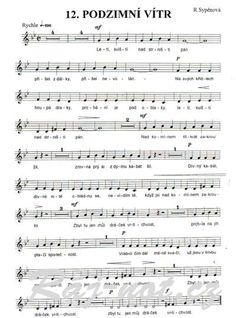 písničky pro děti noty - Hledat Googlem Sheet Music, Kids, Young Children, Boys, Children, Music Score, Kid, Music Notes, Children's Comics
