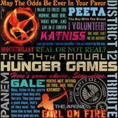 The Hunger Games Quotes I honestly think im addicted to hunger games I