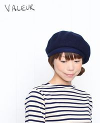 VALEUR[バルール] ベレー帽 anonia 4色 2014AW