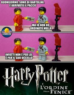 Harry  Potter e l'ordine della fenice Harry Potter Quiz, Harry Potter Tumblr, Harry Potter Pictures, Lego Harry Potter, Harry Potter Fan Art, Lego Humor, Lego Memes, Funny Scenes, Hogwarts