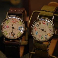 hand stitched watches