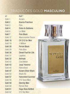 HINODE - PERFUMES TRADUÇÕES GOLD: Hinode perfume traduções gold