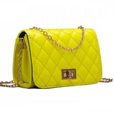 Selling this Bright #Yellow Handbag Quilted Clutch Cross-body in my Poshmark closet! My username is: runningshears. #shopmycloset #poshmark #fashion #shopping #style #forsale #LilandLo #Handbags #quiltedclutch