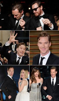 Benedict Cumberbatch is officially the sexiest man of award season.