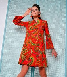 made in the sixties: Photo Decades Fashion, 60s And 70s Fashion, 70s Inspired Fashion, Retro Fashion, Vintage Fashion, Sporty Fashion, 1960s Fashion Dress, Fashion Women, Fashion 2020