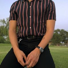 men's fashion and casual outfit Outfits Casual, Tomboy Outfits, Grunge Outfits, Cool Outfits, Men Casual, Fashion Outfits, Boy Fashion, Aesthetic Fashion, Aesthetic Clothes