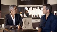 Matt Damon Joins George Clooney in Nespresso Campaign, but It's No Oscar Winner George Clooney, Creative Advertising, Marketing And Advertising, Nespresso, Digital Marketing Trends, Matt Damon, Oscar Winners, Tv Commercials, Campaign