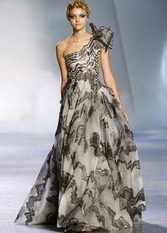 Zuhair Murad  Stagione Haute Couture Autunno Inverno 2009/2010, città Parigi.
