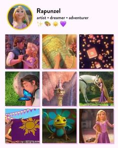 Disney Movies, Rapunzel, Dream Big, Tangled, The Dreamers, Adventure, Disney Princess, Artist, Instagram