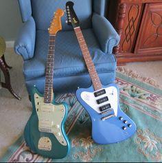 Firebird and Jazzmaster, my favourite guitars