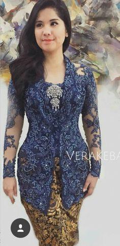 Kebaya Vera Kebaya, Kebaya Lace, Kebaya Brokat, Batik Kebaya, Kebaya Dress, Batik Dress, Dress Brukat, Modern Kebaya, Kebaya Wedding