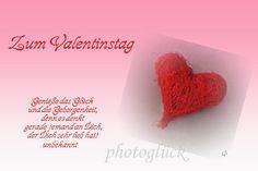 Karte Liebe Valentinstag Herz von PHOTOGLÜCK auf DaWanda.com