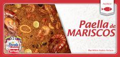 La paella de mariscos un espectacular plato de nuestro Pacífico colombiano.