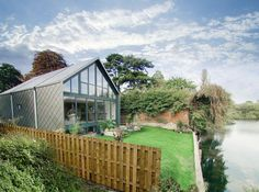 'Like a shimmering sea creature': Britain's first amphibious homes